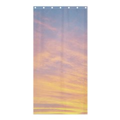 Yellow Blue Pastel Sky Shower Curtain 36  X 72  (stall)  by Costasonlineshop