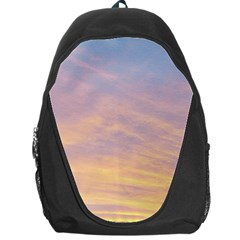 Yellow Blue Pastel Sky Backpack Bag