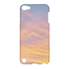 Yellow Blue Pastel Sky Apple Ipod Touch 5 Hardshell Case by Costasonlineshop