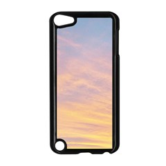 Yellow Blue Pastel Sky Apple Ipod Touch 5 Case (black)