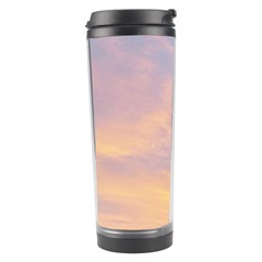 Yellow Blue Pastel Sky Travel Tumblers
