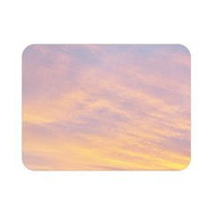 Yellow Blue Pastel Sky Double Sided Flano Blanket (mini)