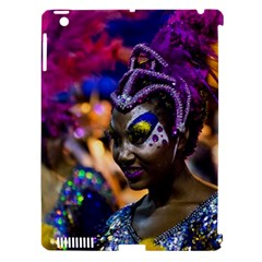 Costumed Attractive Dancer Woman At Carnival Parade Of Uruguay Apple Ipad 3/4 Hardshell Case (compatible With Smart Cover) by dflcprints