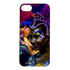 Costumed Attractive Dancer Woman At Carnival Parade Of Uruguay Apple Iphone 5s Hardshell Case by dflcprints