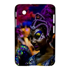 Costumed Attractive Dancer Woman At Carnival Parade Of Uruguay Samsung Galaxy Tab 2 (7 ) P3100 Hardshell Case  by dflcprints