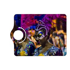 Costumed Attractive Dancer Woman At Carnival Parade Of Uruguay Kindle Fire Hd (2013) Flip 360 Case by dflcprints