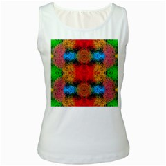 Colorful Goa   Painting Women s Tank Tops