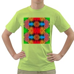 Colorful Goa   Painting Green T Shirt