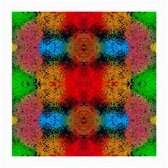 Colorful Goa   Painting Medium Glasses Cloth (2 Side) by Costasonlineshop