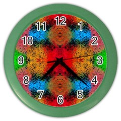Colorful Goa   Painting Color Wall Clocks