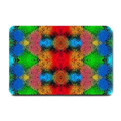 Colorful Goa   Painting Small Doormat  by Costasonlineshop