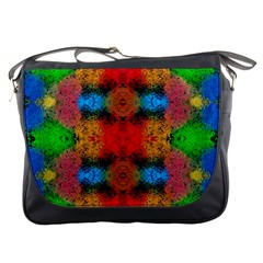 Colorful Goa   Painting Messenger Bags