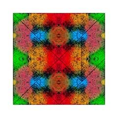 Colorful Goa   Painting Acrylic Tangram Puzzle (6  X 6 ) by Costasonlineshop