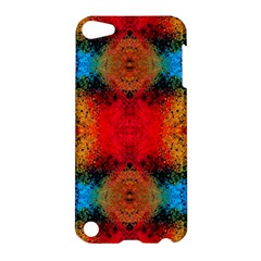Colorful Goa   Painting Apple Ipod Touch 5 Hardshell Case by Costasonlineshop