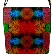 Colorful Goa   Painting Flap Messenger Bag (s)