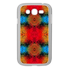 Colorful Goa   Painting Samsung Galaxy Grand Duos I9082 Case (white)