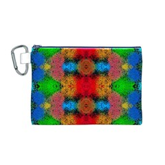 Colorful Goa   Painting Canvas Cosmetic Bag (m) by Costasonlineshop