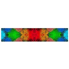 Colorful Goa   Painting Flano Scarf (small)