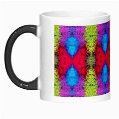 Colorful Painting Goa Pattern Morph Mugs by Costasonlineshop