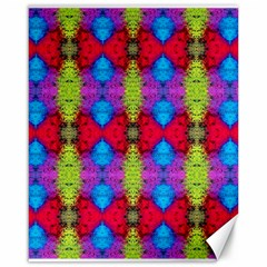 Colorful Painting Goa Pattern Canvas 16  X 20