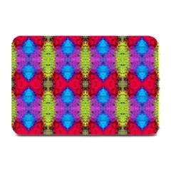 Colorful Painting Goa Pattern Plate Mats by Costasonlineshop