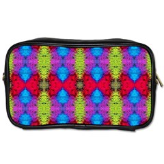Colorful Painting Goa Pattern Toiletries Bags by Costasonlineshop