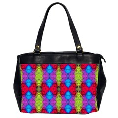 Colorful Painting Goa Pattern Office Handbags (2 Sides)  by Costasonlineshop