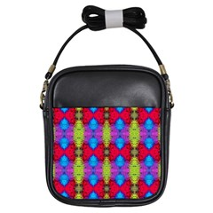 Colorful Painting Goa Pattern Girls Sling Bags