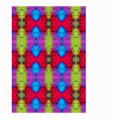 Colorful Painting Goa Pattern Small Garden Flag (two Sides)