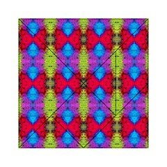 Colorful Painting Goa Pattern Acrylic Tangram Puzzle (6  X 6 ) by Costasonlineshop