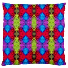Colorful Painting Goa Pattern Large Cushion Cases (one Side)