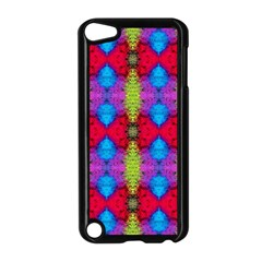 Colorful Painting Goa Pattern Apple Ipod Touch 5 Case (black) by Costasonlineshop