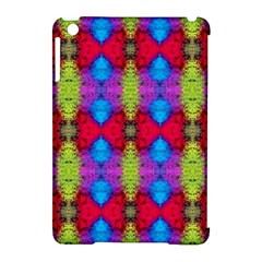 Colorful Painting Goa Pattern Apple Ipad Mini Hardshell Case (compatible With Smart Cover)