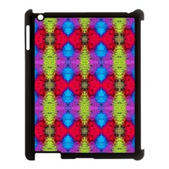 Colorful Painting Goa Pattern Apple Ipad 3/4 Case (black) by Costasonlineshop