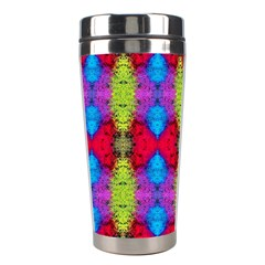 Colorful Painting Goa Pattern Stainless Steel Travel Tumblers