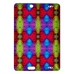 Colorful Painting Goa Pattern Kindle Fire Hd (2013) Hardshell Case by Costasonlineshop