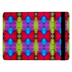 Colorful Painting Goa Pattern Samsung Galaxy Tab Pro 12 2  Flip Case by Costasonlineshop