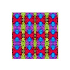 Colorful Painting Goa Pattern Satin Bandana Scarf by Costasonlineshop
