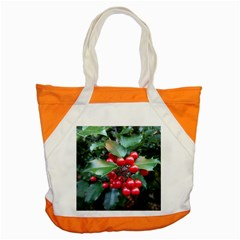 Holly 1 Accent Tote Bag  by trendistuff
