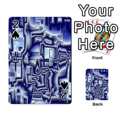 Reflective Illusion 01 Playing Cards 54 Designs