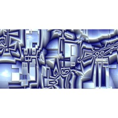 Reflective Illusion 01 You Are Invited 3d Greeting Card (8x4)