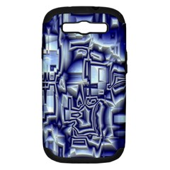 Reflective Illusion 01 Samsung Galaxy S Iii Hardshell Case (pc+silicone) by MoreColorsinLife