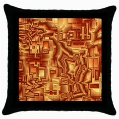 Reflective Illusion 02 Throw Pillow Cases (black) by MoreColorsinLife