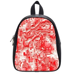 Reflective Illusion 03 School Bags (small)  by MoreColorsinLife