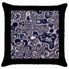 Reflective Illusion 04 Throw Pillow Cases (black) by MoreColorsinLife
