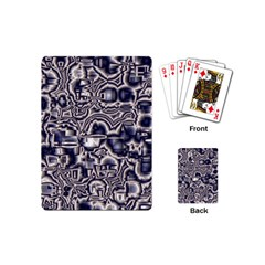 Reflective Illusion 04 Playing Cards (mini)  by MoreColorsinLife