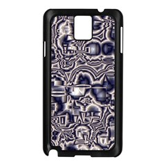 Reflective Illusion 04 Samsung Galaxy Note 3 N9005 Case (black) by MoreColorsinLife