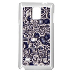 Reflective Illusion 04 Samsung Galaxy Note 4 Case (white) by MoreColorsinLife