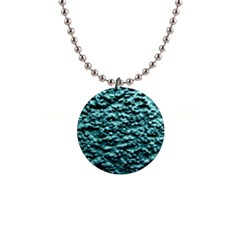 Green Metallic Background, Button Necklaces by Costasonlineshop