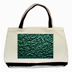 Green Metallic Background, Basic Tote Bag  by Costasonlineshop